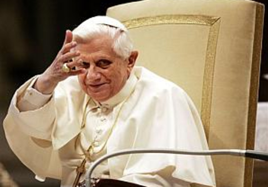 The pope and the Holocaust deniers
