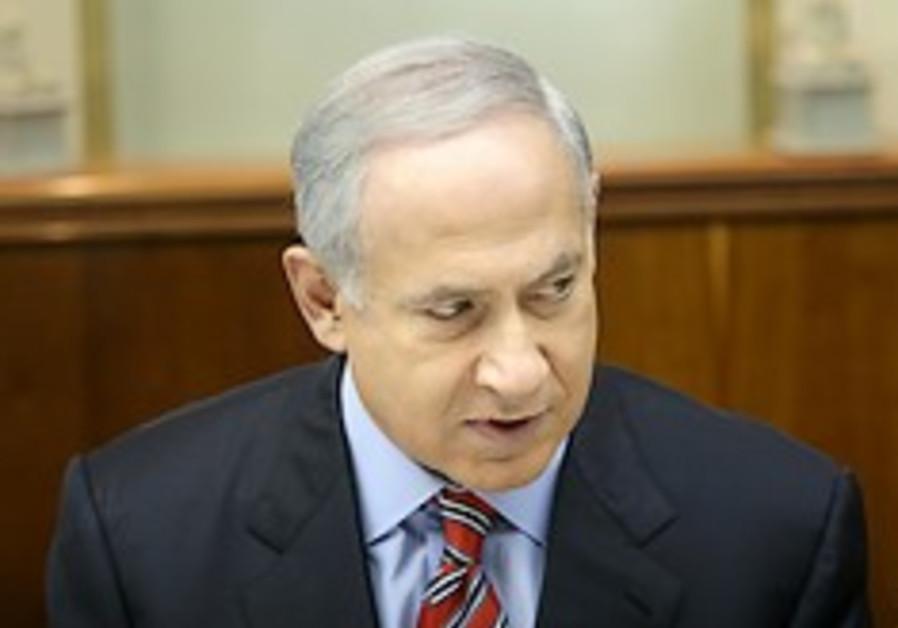 netanyahu at cabinet 248 aj