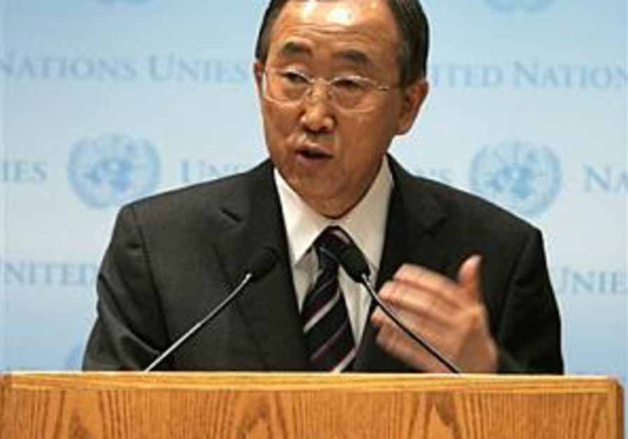 Lieberman responds to UN chief