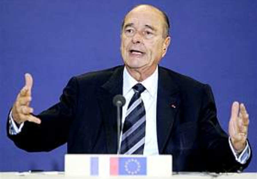 Chirac orders Holocaust denier probed