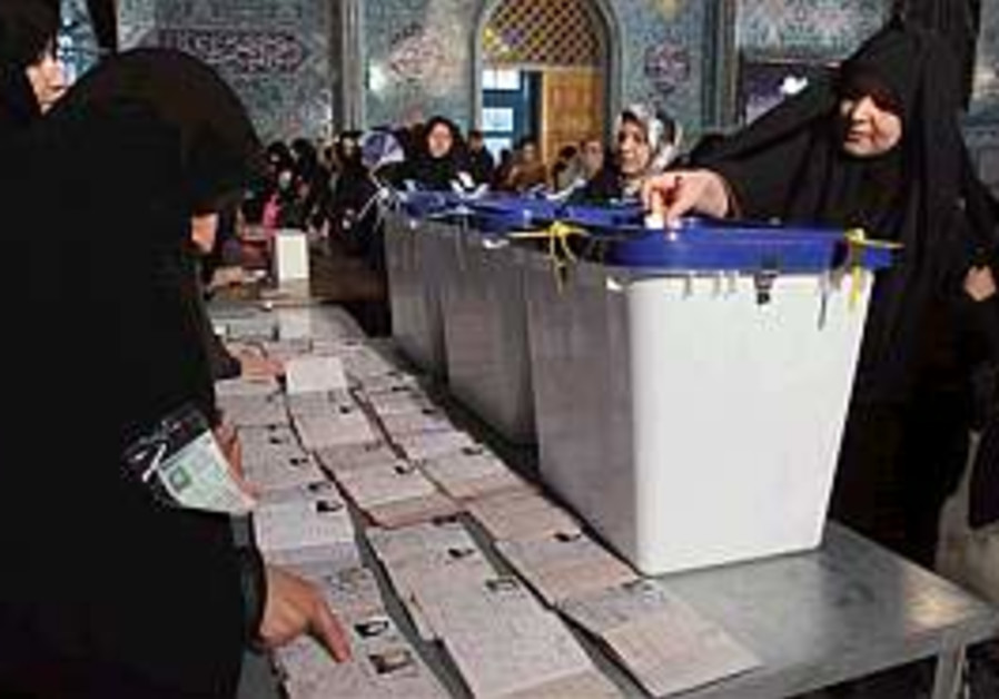 Iran begins voting in local elections