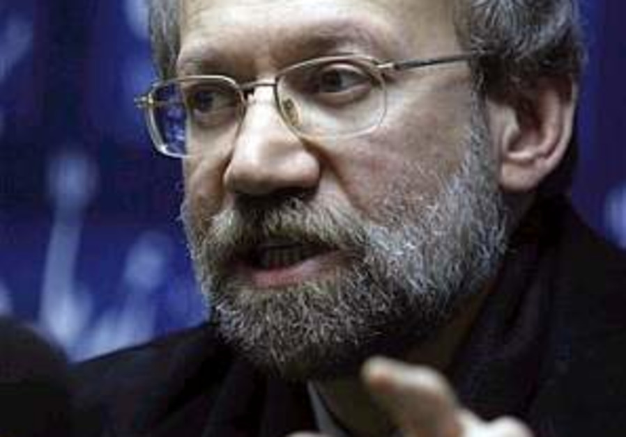 Larijani: Iran gives money to Hamas, not weapons