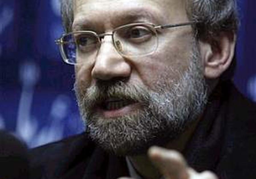 Larijani admits Iran financing Hamas