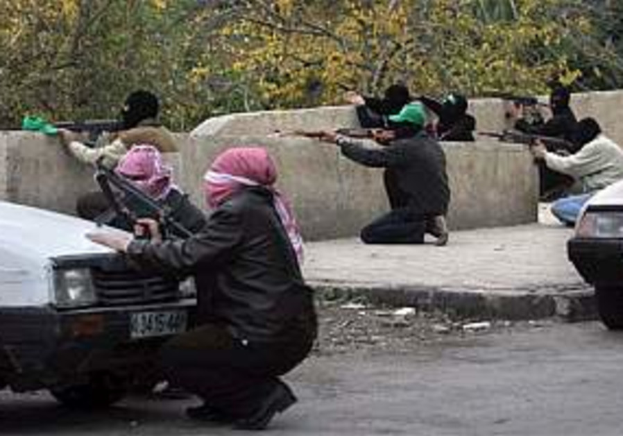 Two wounded in Gaza drive-by shooting