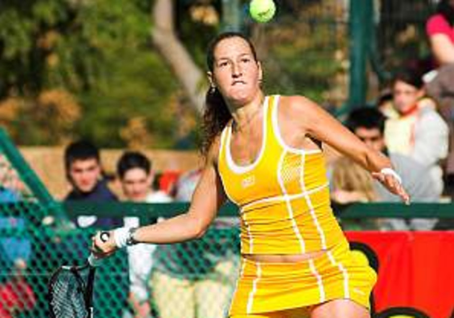 Tennis: Pe'er starts the year with victory