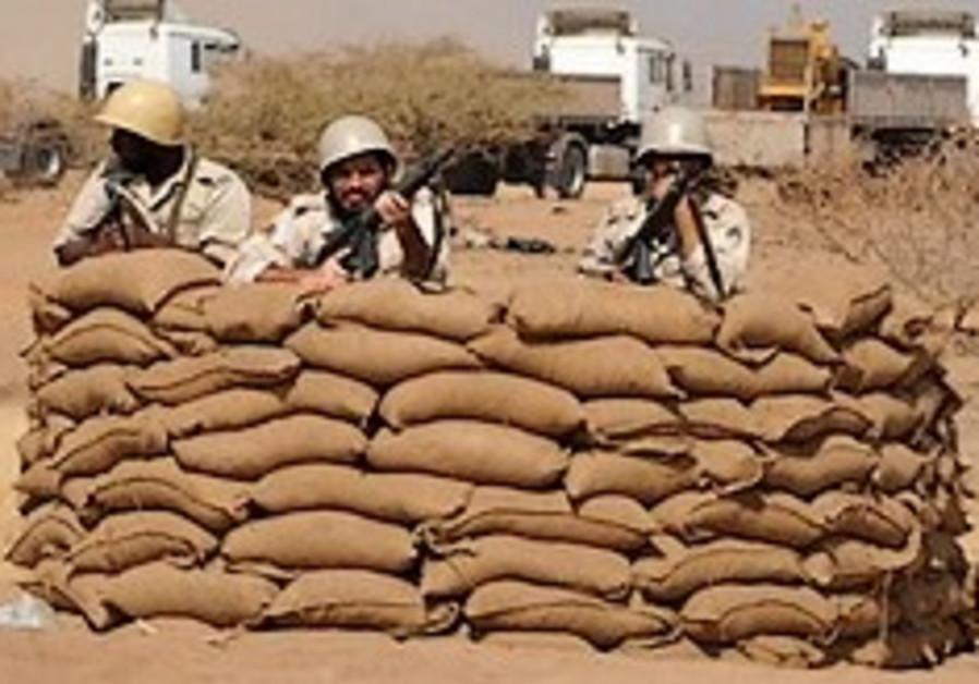 Saudi soldiers Yemen border 248.88
