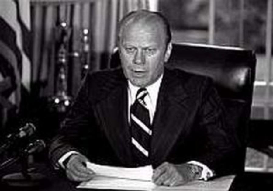 Ford had ambivalent relationship with Israel during presidency