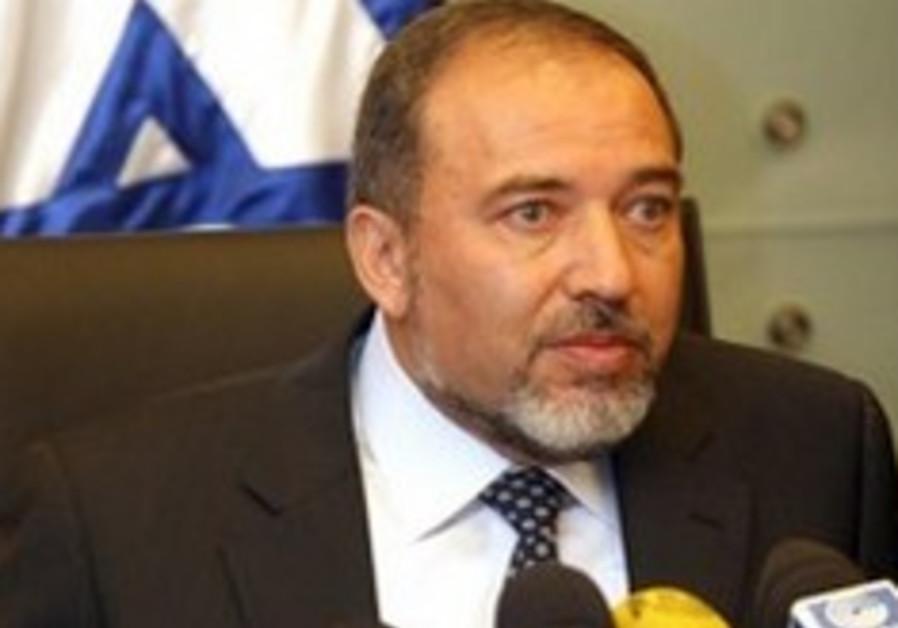 Lieberman with flag 248 88 aj