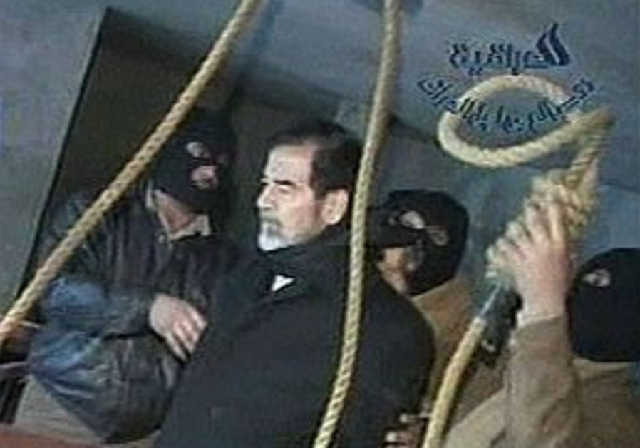 Execution sparks wave of support for Saddam in Arab world