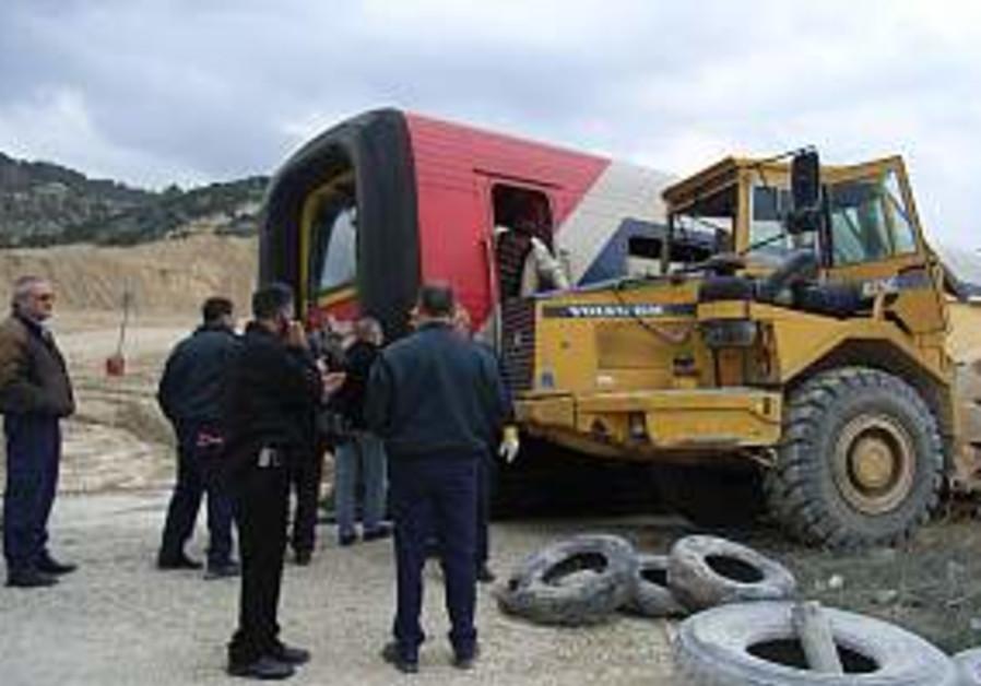 Beit Shemesh train crash injures 31