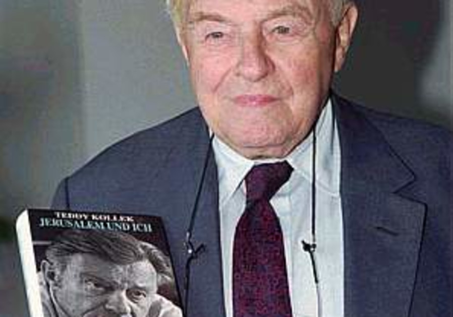 Legendary J'lem mayor Kollek dies at 95