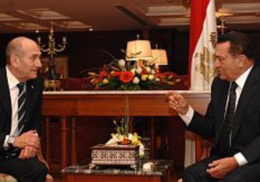 olmert mubarak 298 gpo