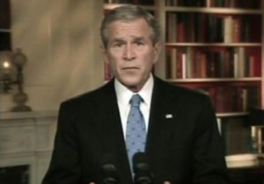 Bush warns Iran against action in Iraq