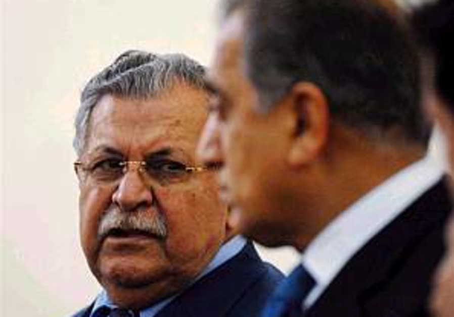 Talabani calls on PKK rebels to lay down arms or leave Iraq