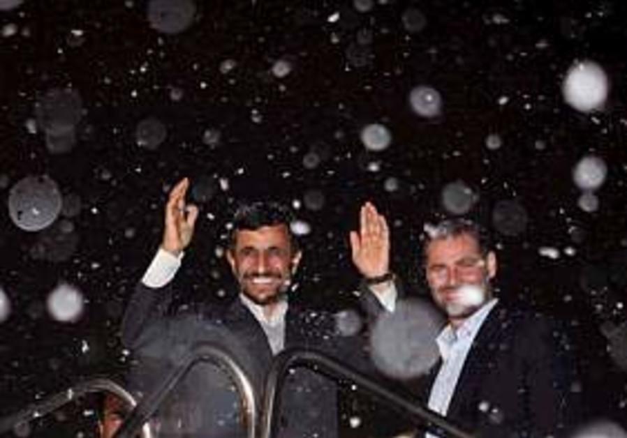 Conservatives challenge Ahmadinejad's diplomacy tactics