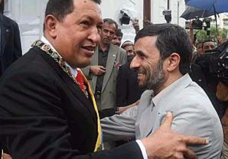 Ahmadinejad begins S. American tour