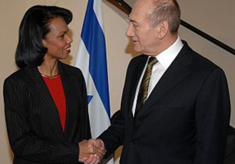 Olmert, Abbas, Rice to hold ME talks