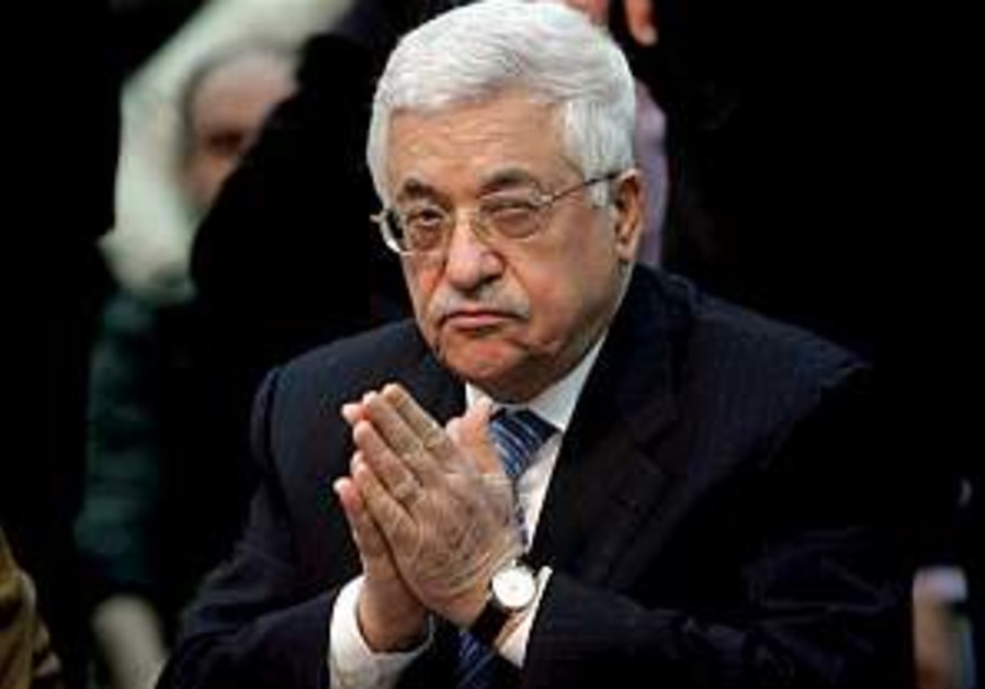 Now, more than ever: Strengthen Abbas
