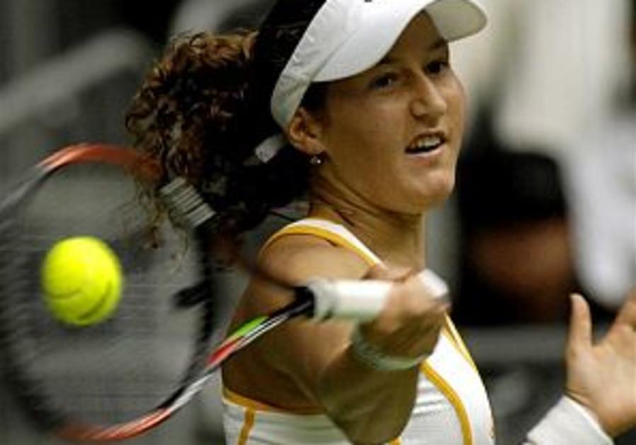 Tennis: Pe'er advances at Italian Open