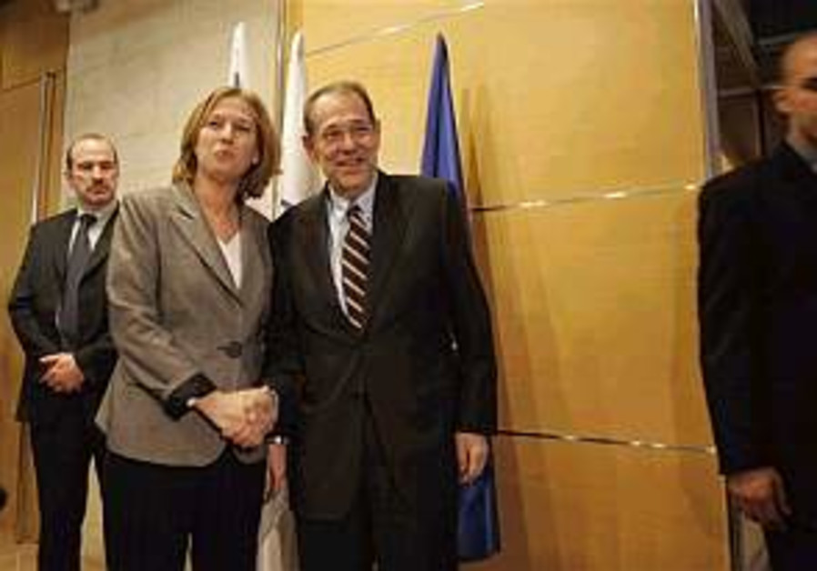 Livni calls on Europe not to let financial considerations dictate Iran policy