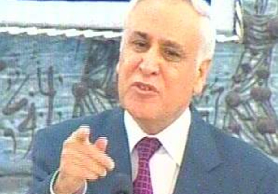 Katsav slams media 'smear campaign'