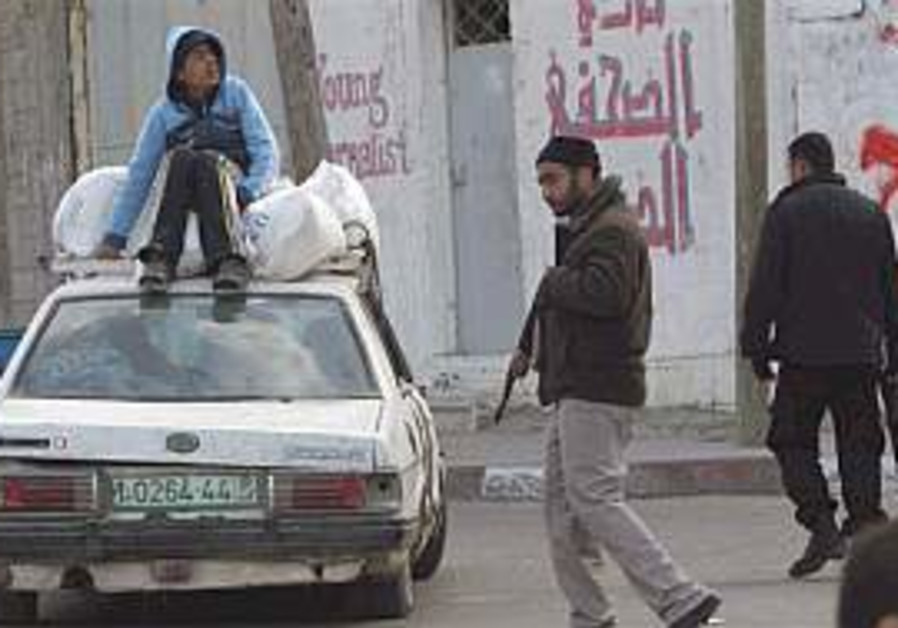 'Palestinians are on verge of civil war'