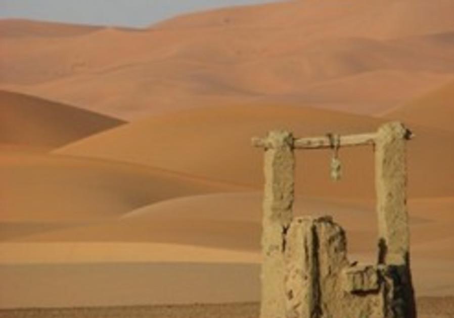 Image result for well in desert