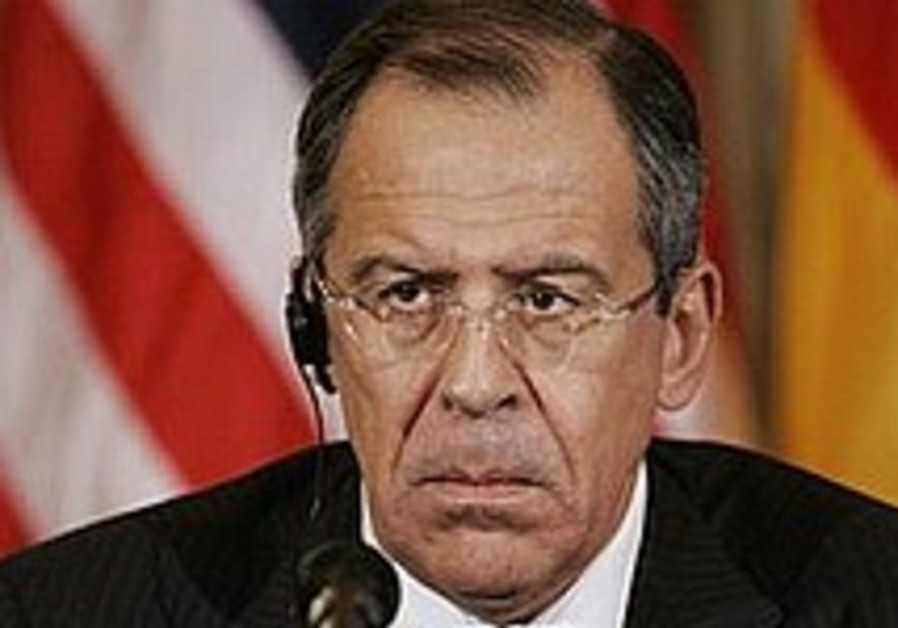 Russian FM urges dialogue with Iran