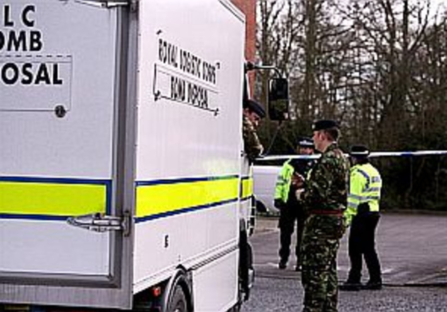 British police arrest suspect in spate of letter bombs