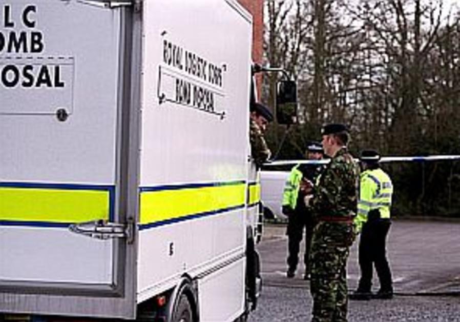 Third UK parcel bomb injures woman at licensing agency