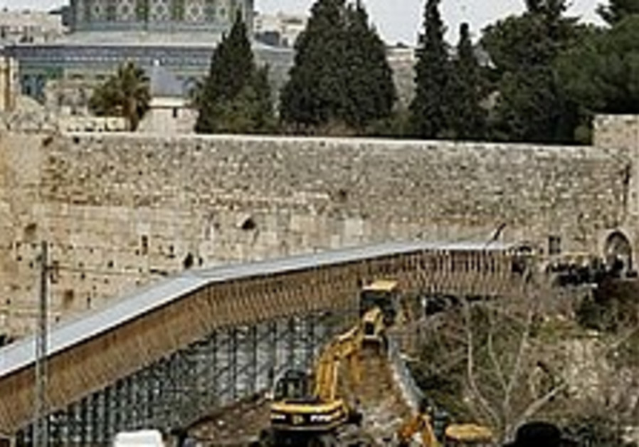 Temple Mount travesty
