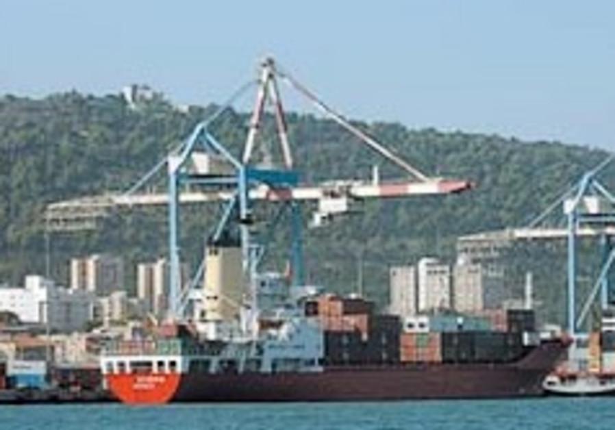 exports haifa port 248 88 aj