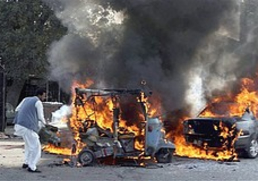 Pakistani bomb fire 248.88