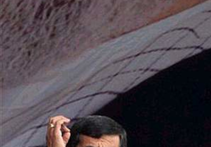 Ahmadinejad: Iran's nuke program 'like a train without brakes'