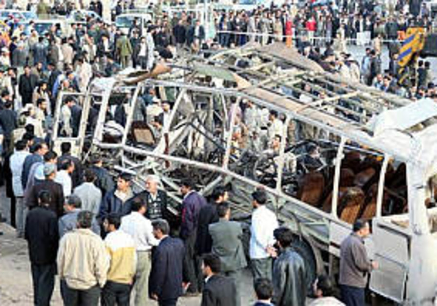 Analysis: Iranian bus bombing reflects internal and external conflict