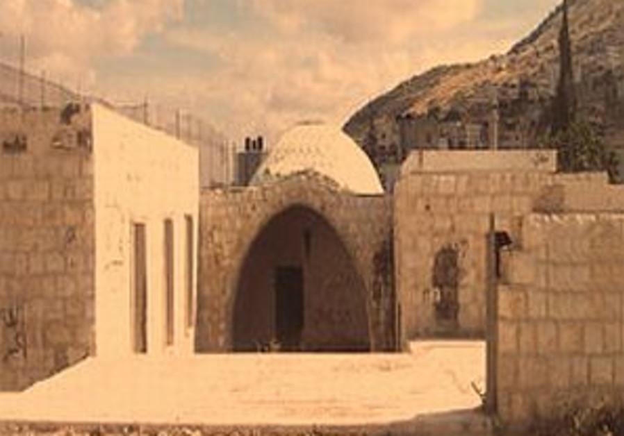 Site of Joseph's Tomb vandalized