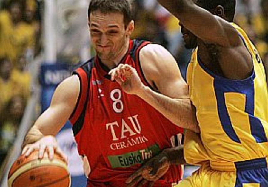 Tau Vitoria tops Maccabi Tel Aviv