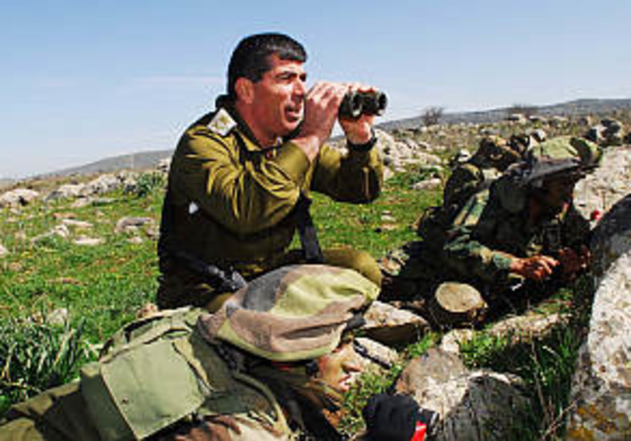 IDF holding major war simulation