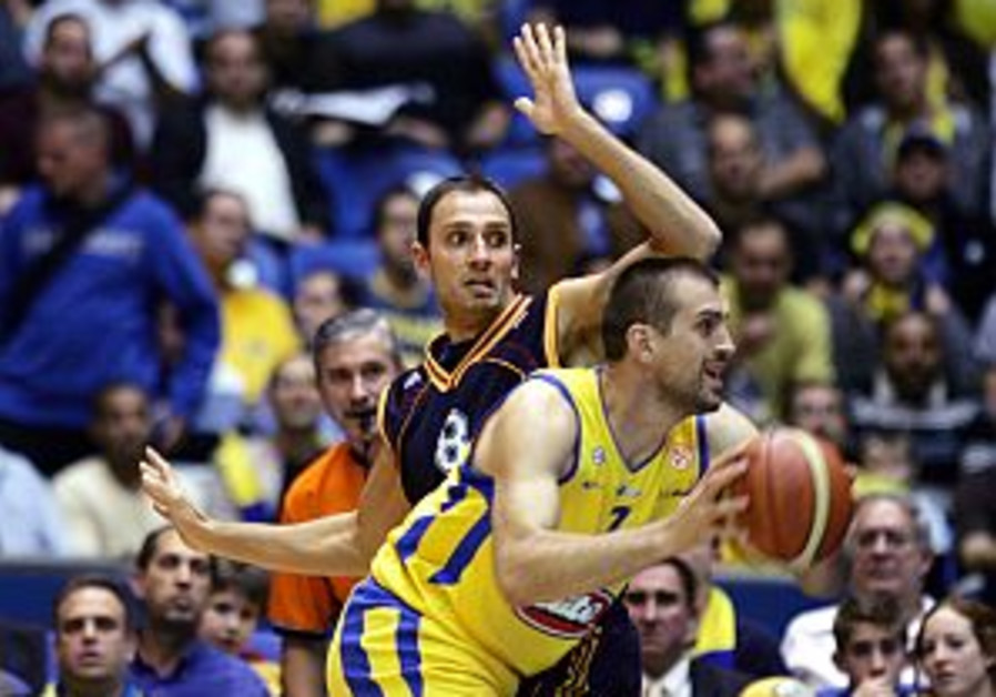 Euroleague: Maccabi TA hopes to brush off loss