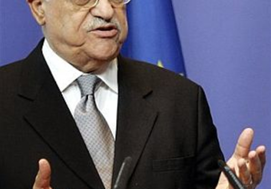 Officials back PM on arms to Abbas