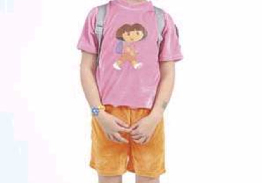 Dora the Explorer joins the Purim carnival