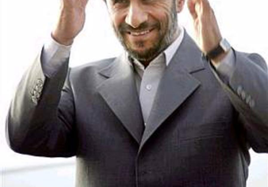Analysis: Why Ahmadinejad visited Belarus