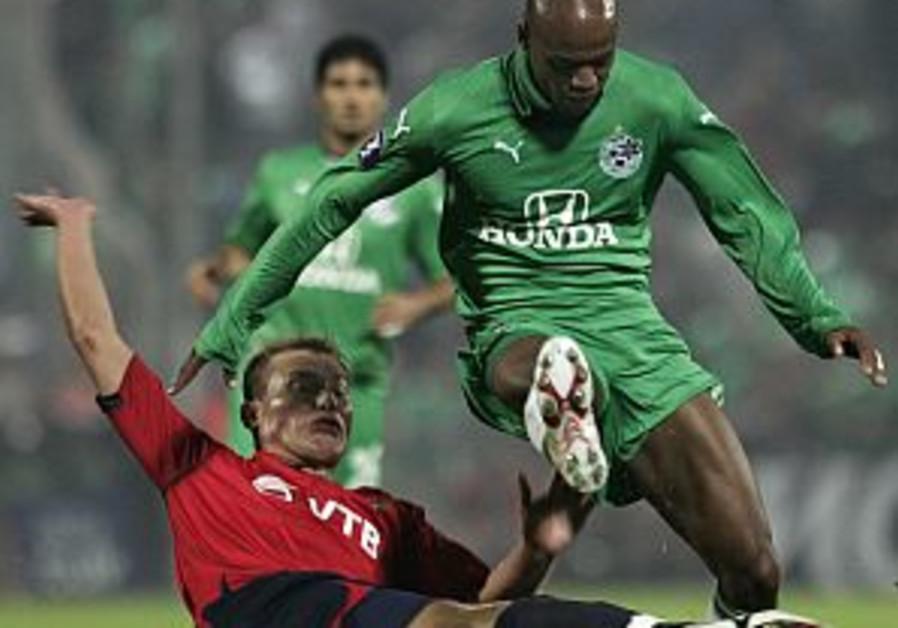 UEFA Cup: Maccabi Haifa plays the underdog
