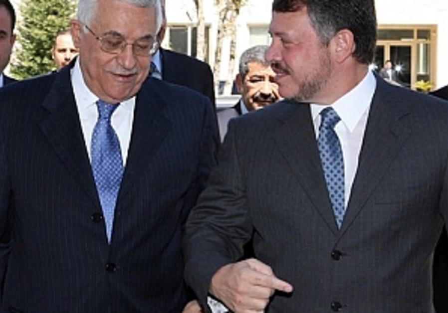 Jordan: Abbas must clarify peace goals