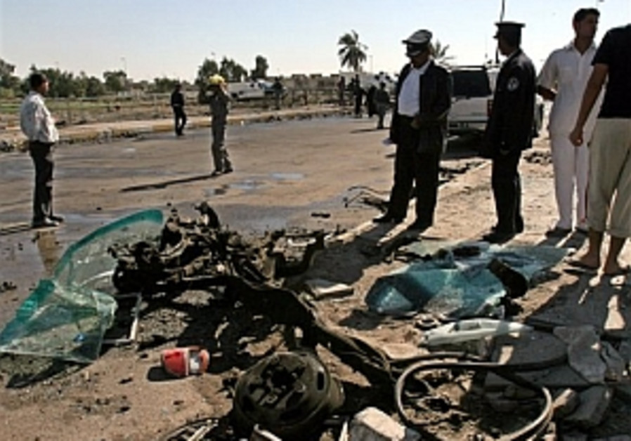 Car bomb hits Shiite stronghold as int'l conference opens