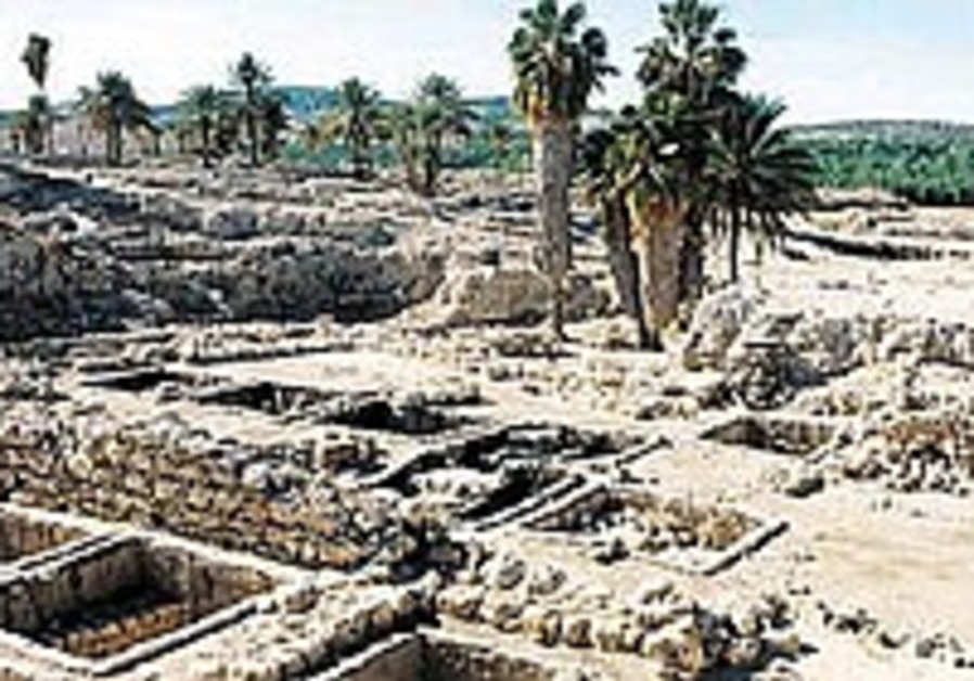 Bronze Age building uncovered near Gaza