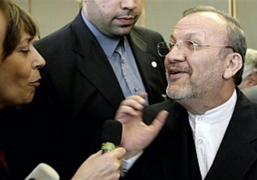 Iranian FM: 'Israel is a nuclear threat'