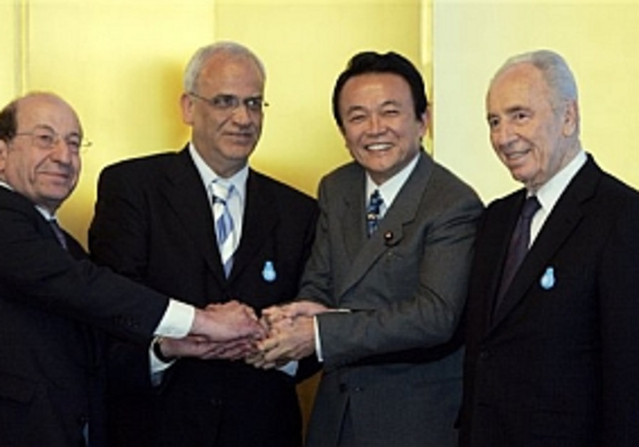 Israel, PA agree on Japan-backed plan