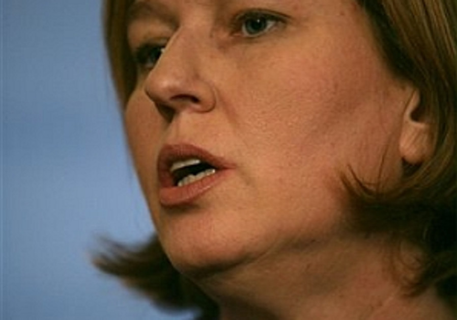Livni holds talks with Jordanian counterpart in Amman