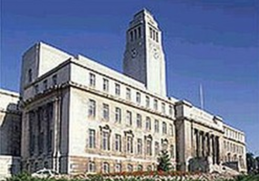 Leeds U. cancels anti-Semitism event